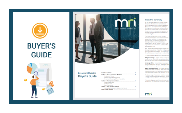 Investment Modelling Buyer's Guide